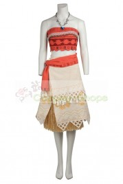 Moana Princess Dress Cosplay Costume