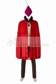 Sleeping Beauty Prince Phillip Full Cosplay Costume