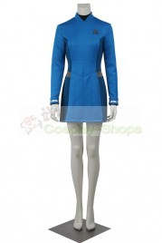 Star Trek Beyond Carol Blue Uniform Cosplay Costume