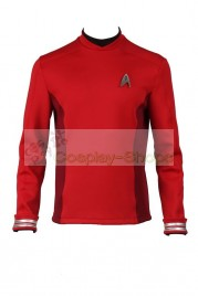 Star Trek Beyond Scotty Crewman Red uniform Cosplay Costume