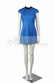 Star Trek Into Darkness Carol Marcus Blue Cosplay Costume