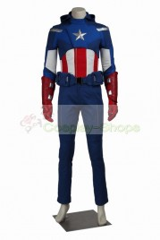 The Avengers Captain America Cosplay Costume