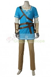 The Legend of Zelda: Breath of the Wild Link botw Cosplay Costume