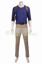 Uncharted 4 A Thief's End Nathan Drake Cosplay Costume
