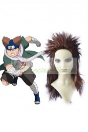 Naruto Choji Akimichi Medium brown (coffee) 60cm Cosplay Cruly Wig