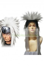 Naruto Jiraiya Medium white 60cm Cosplay Spike Wig
