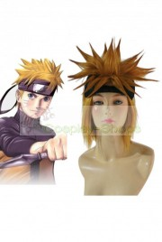 Naruto Uzumaki Short Golden Cosplay Spike Wig