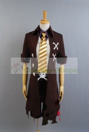 Ao no Exorcist / Blue Exorcist King of Earth Amaimon Cosplay Costume