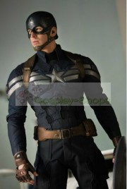 Captain America The Winter Soldier Steve Rogers / Captain America Stealth Suit Costume