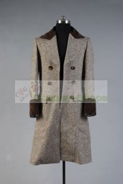 Doctor Who Horror of Fang Rock 4th Fourth Dr Tom Baker Cosplay Costume