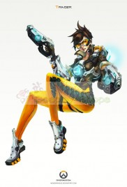 Overwatch Tracer Full Cosplay Costume