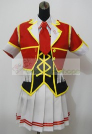 Love Live! Our Live, Your Life Rin Hoshizora Cosplay Costume