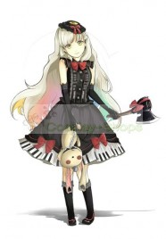 VOCALOID 3 Library MAYU Lolita Dress Cosplay Costume