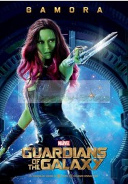 Gamora from Guardians of the Galaxy Movie Version Cosplay Costume