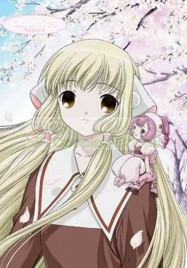 Chobits Chii Red and White Dress Cosplay Costume