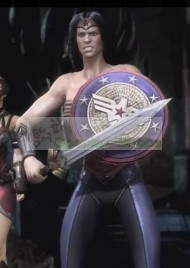 Wonder Woman Sword from Injustice: Gods Among Us Video Game Cosplay Prop