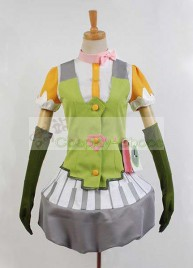 Minarai Diva Ui Harune Cosplay Dress Costume