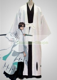 Bleach -  5th Division Captain Aizen Sousuke Cosplay Costume
