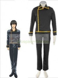Gintama / Silver Soul Shinsengumi Cosplay Costume Black