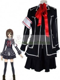 Vampire Knight Women Day Department  Black Uniform Yuki Cross / Yuki Kuran Cosplay Costume