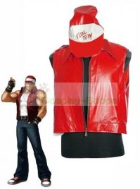 The King of Fighters(KOF) Terry Red Cosplay Costume