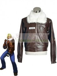 The King of Fighters(KOF) Terry Bogard Brown Cosplay Costume