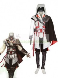 Assassin's Creed (AC) II Ezio Auditore da Firenze Cosplay Costume