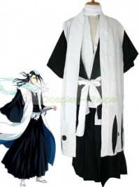 Bleach -  6th Division Captain Kuchiki Byakuya Cosplay Costume