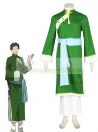 Black Butler Lau Cosplay Costume Green