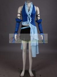 Final Fantasy Yuna songstress Cosplay Costume