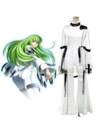 Code Geass C.C. Cosplay Costume white