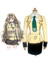 Code Geass Shirley Fenette cosplay costume yellow