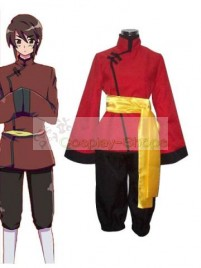 Axis Power Hetalia Hongkong Red Cosplay Costume