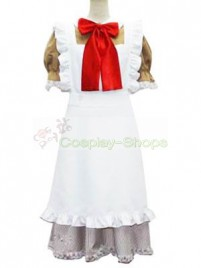 Axis Power Hetalia Little Italy White and Gold Cosplay Costume