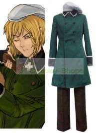 Axis Power Hetalia Vash Zwingli Hunter Cosplay Costume