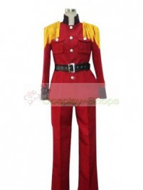 Axis Power Hetalia Latvia Red Cosplay Costume