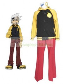 Soul Eater  Evans Yellow and Red Cosplay Costumes