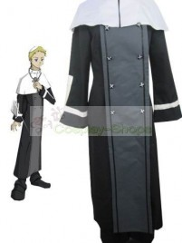 Soul Eater Justin Law Black Cosplay Costume