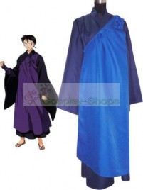 InuYasha Miroku Cosplay Costume (Purple Blue)