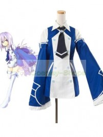 Pandora Heart Echo Cosplay Costume White and Blue