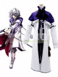 Pandora Hearts Xerxes Break Cosplay Costume White and Purple