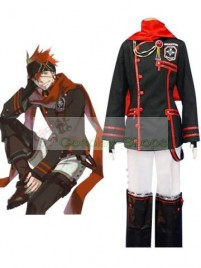 D.Gray Man Lavi Cosplay Costume black red