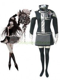 D.Gray Man Lenalee Lee Cosplay Costumes Black Silver