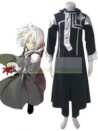 D.Gray Man Allen Walker Cosplay Costume 4th Edition Black