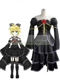 Vocaloid IMITATION BLACK Kagamine Len Cosplay Costume
