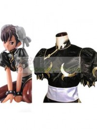 Street Fighter Chun-Li Black Cosplay Costume