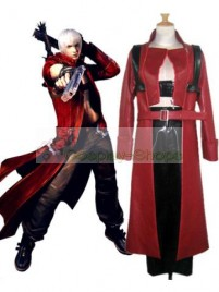 Devil May Cry DMC 3 Dante Cosplay Costume Red
