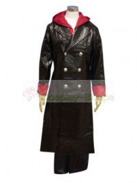 Devil May Cry DMC Nero Cosplay Costume Black