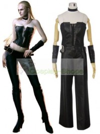 Devil May Cry DMC 4 Trish Cosplay Costume Black
