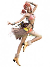 Final Fantasy XIII 13 OERBA DIA VANILLE Cosplay Costume